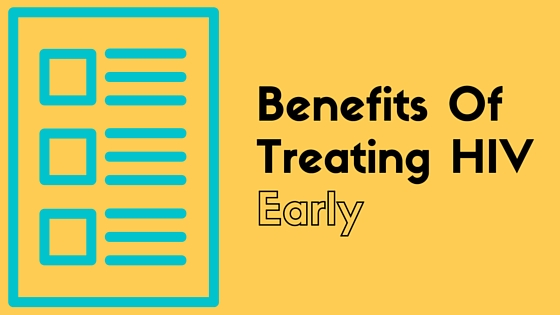 early HIV treatment benefits